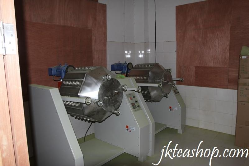 JKBall grinding matcha