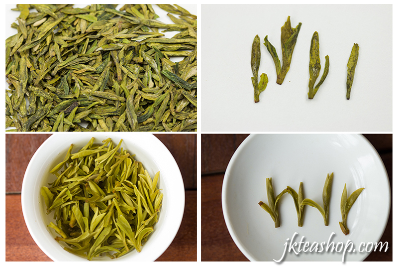 longjing tea shape