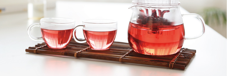 Hibiscus Sabdariffa Herbal Tea