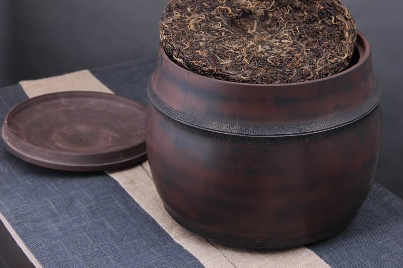 how to store pu erh tea