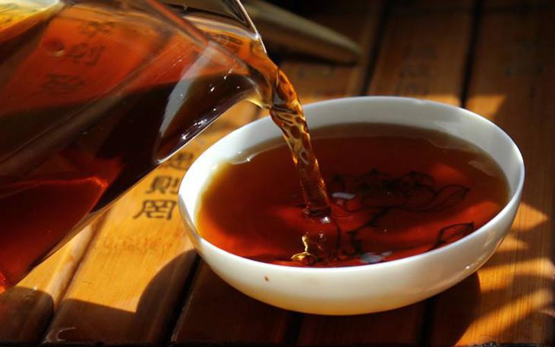 pu erh tea soup