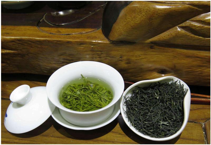 maojiao green tea brewing