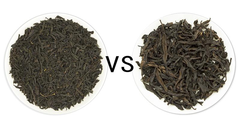 Lapsang Souchong Tea VS Wuyi Rock Oolong Tea